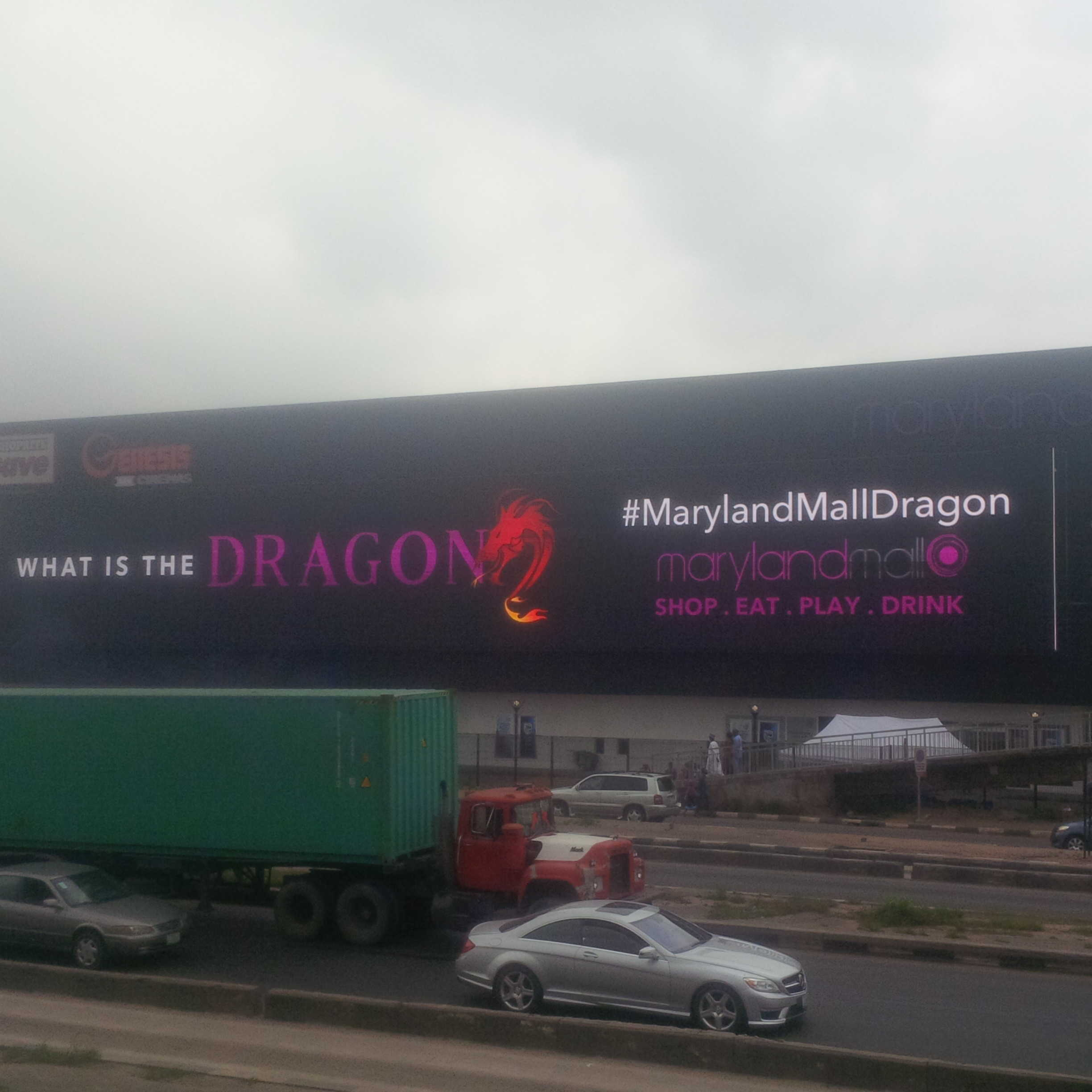 """Purple Capital Partners Unveils """"the Dragon,"""" the Longest Billboard in Africa"""